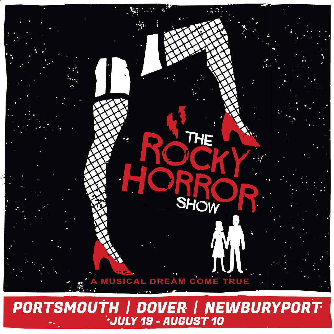A show poster for Rocky Horror Picture Show.